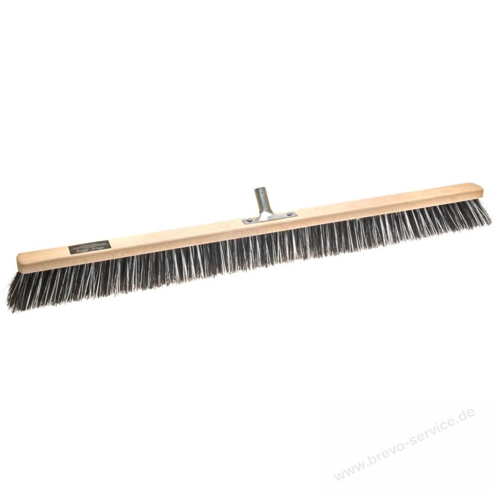 Saalbesen 100 cm Arenga//Elaston Mix mit Metallstielhalter