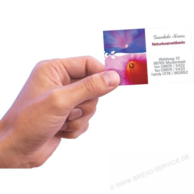 Avery Zweckform Visitenkarten Superior C32011 25 Weiß 250er Pack