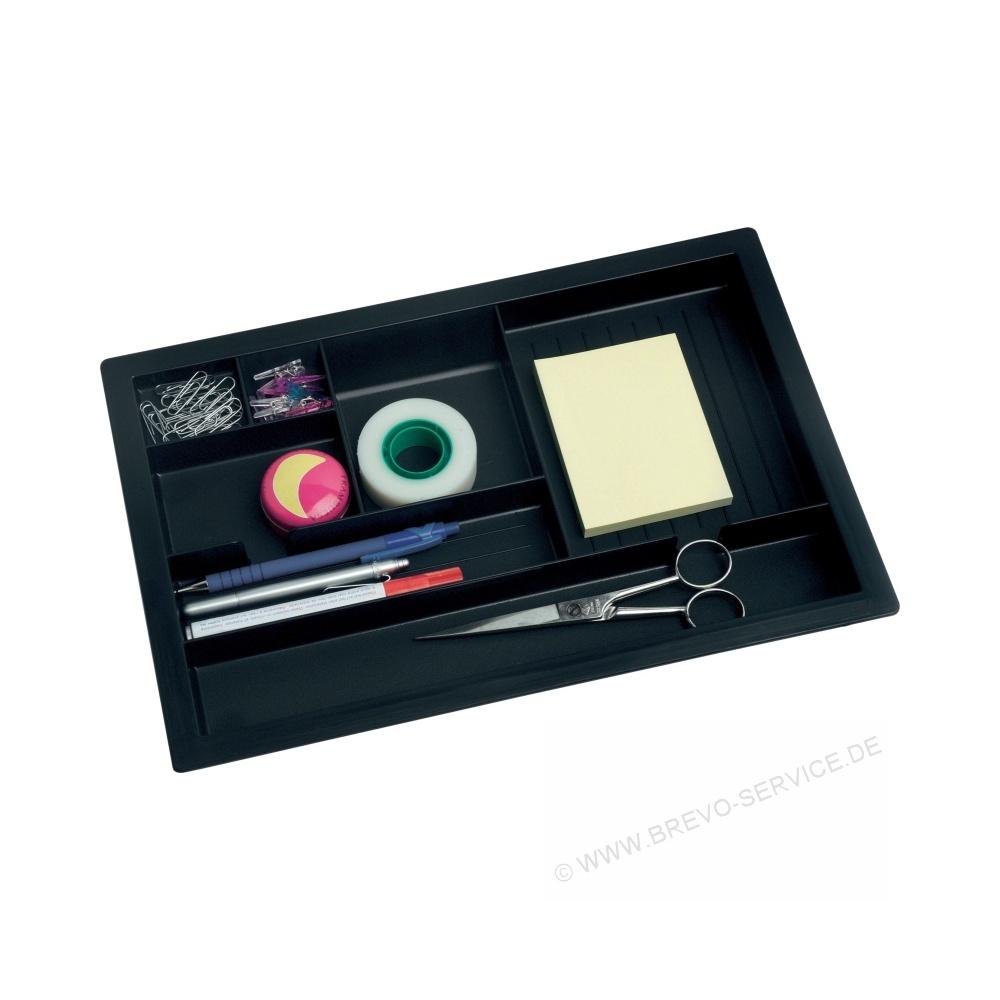 bisley schubladeneinsatz materialschale dip800 anthrazit brevo. Black Bedroom Furniture Sets. Home Design Ideas