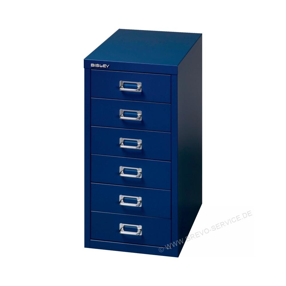 BISLEY Schubladenschrank L296 blau, brevo-service.de
