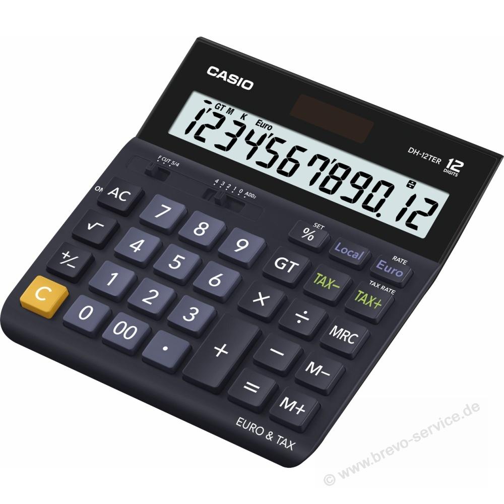 Casio Taschenrechner Dh 12ter Brevo Servicede