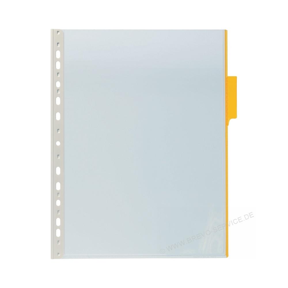 Durable Sichttafel Funktion Panel 560704 gelb 5er Pack, brevo-service.de