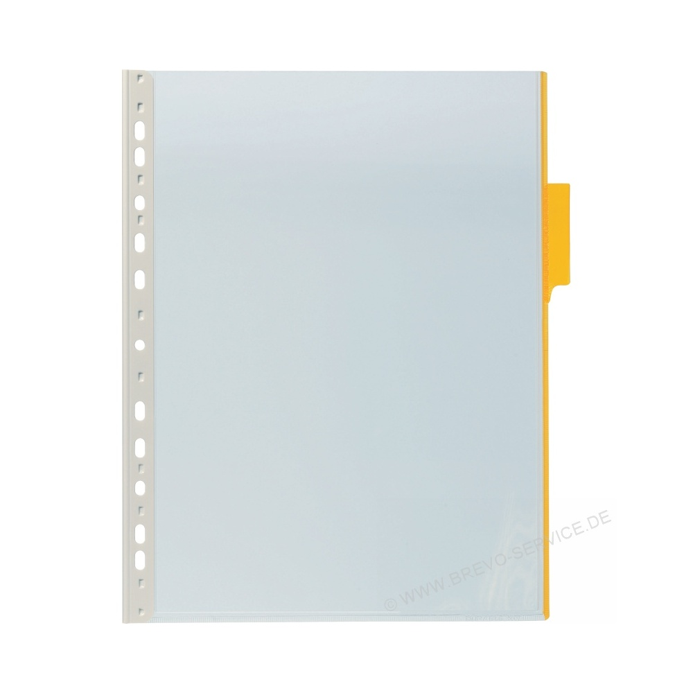 Durable Sichttafel Funktion Panel 560704 Gelb 5er Pack Brevo Servicede