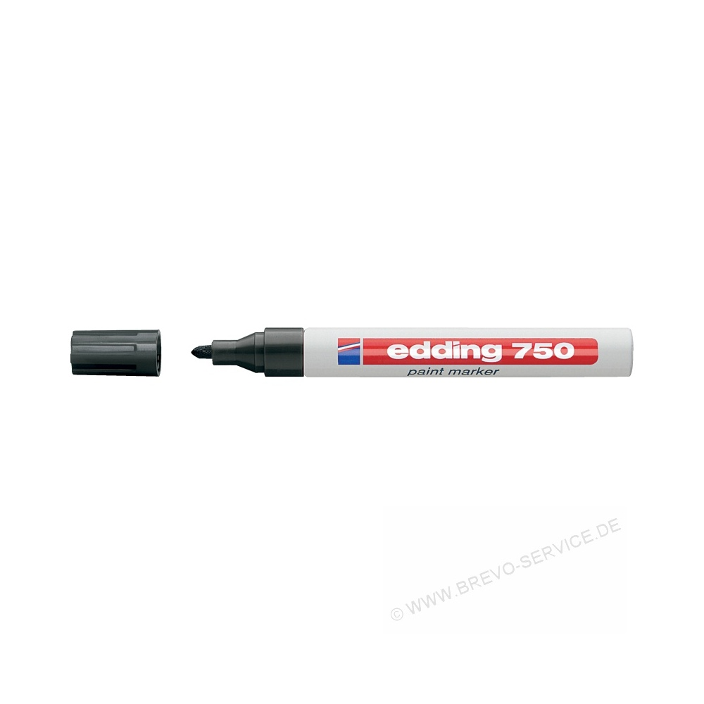 schwarz edding Lackmarker 750