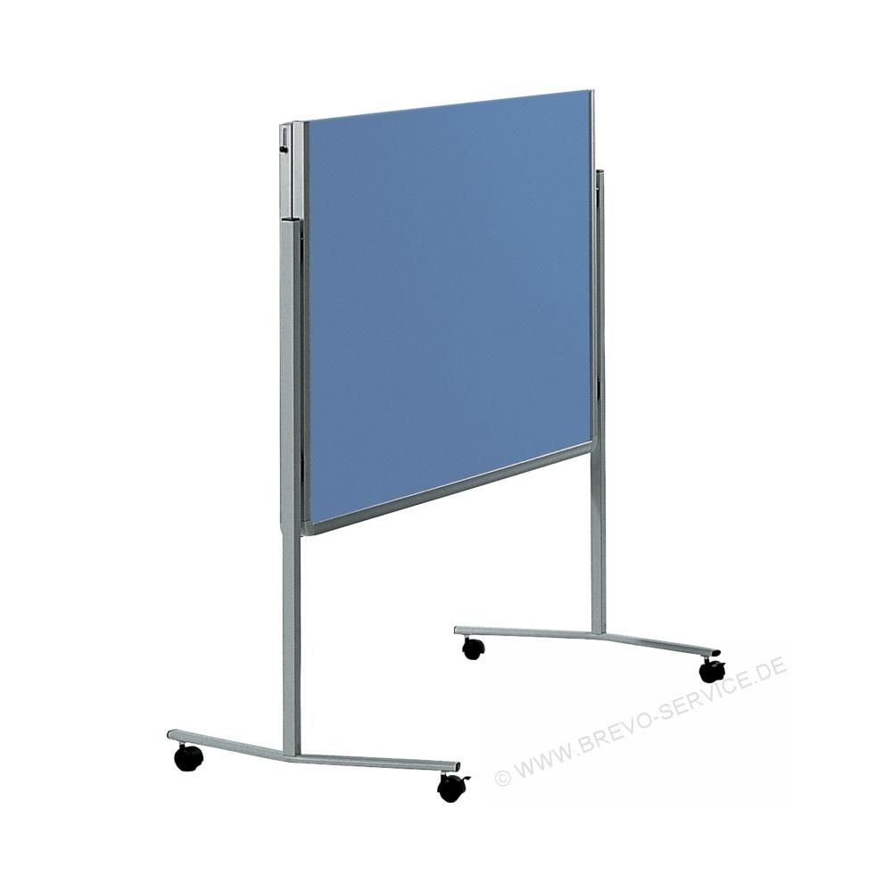 Wand Graublau: Legamaster Filz-Moderationswand 120 X 150 Cm Klappbar