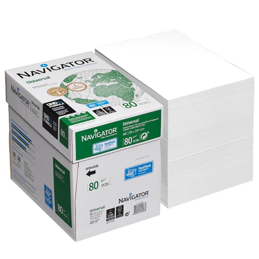 navigator universal kopierpapier a4 80g 2500 blatt brevo. Black Bedroom Furniture Sets. Home Design Ideas