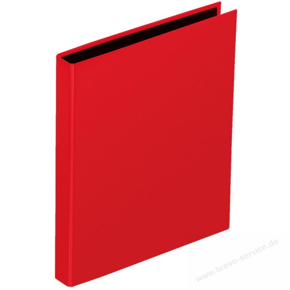 pagna ringbuch basic colours 2060603 din a4 2 ringe 25 mm rot brevo servic. Black Bedroom Furniture Sets. Home Design Ideas
