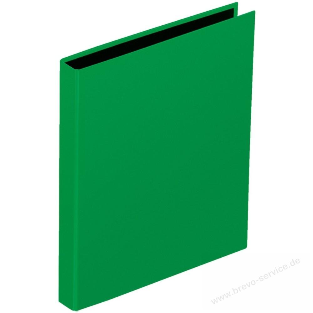 pagna ringbuch basic colours 2040605 din a5 2 ringe 25 mm gr n brevo. Black Bedroom Furniture Sets. Home Design Ideas