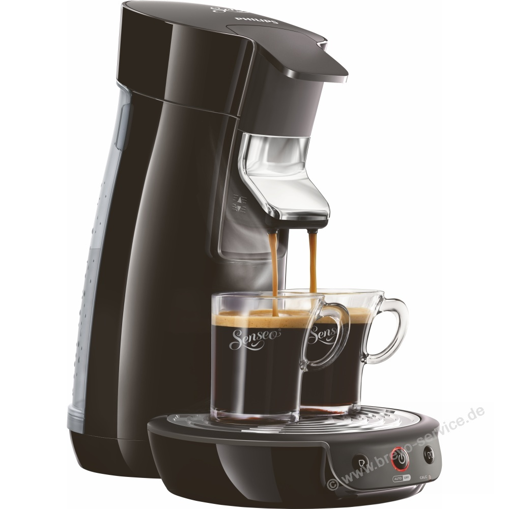 philips kaffeemaschine senseo viva cafe hd7829 60 schwarz brevo. Black Bedroom Furniture Sets. Home Design Ideas