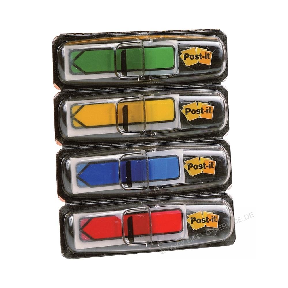 11,9 x 43,2 mm Grundfarben 3M; ... Haftstreifen Index Pfeile 4 x 24 Streifen