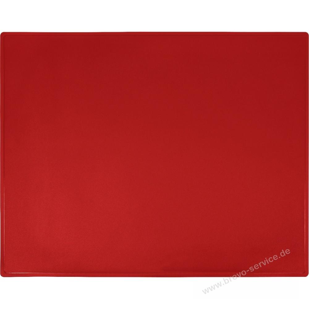 Foto Schreibunterlage schreibunterlage 65 x 52 cm rot, brevo-service.de