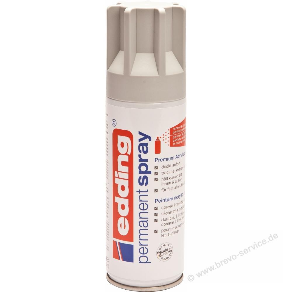 edding dekorlack spray lichtgrau 200 ml seidenmatt, brevo-service.de