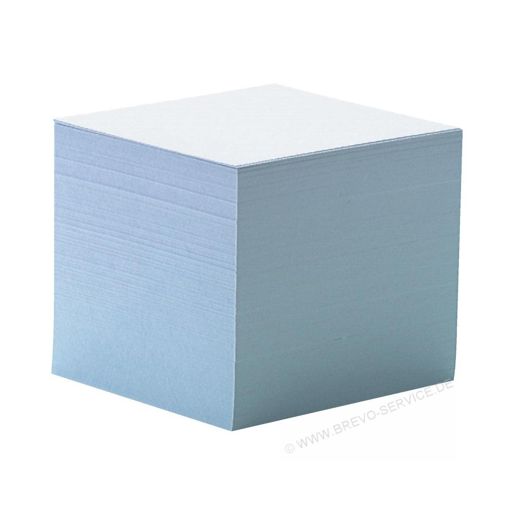 weiss Nachfüllpack Neu OVP Zettelklotz 90 x 90 mm 750 Blätter Blatt Stück
