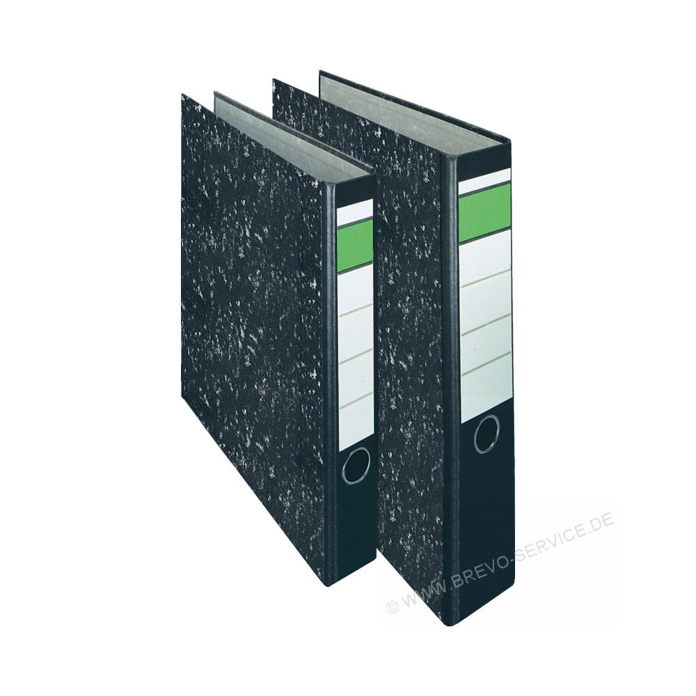 on t o p ordner ot4010 a4 schmal wolkenmarmor schwarz brevo. Black Bedroom Furniture Sets. Home Design Ideas