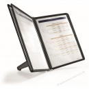 Durable Display System Sherpa soho Tafeln schwarz