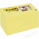 3M Post-it Haftnotiz 48 x 48 mm gelb 12er Pack