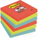 Post-it Haftnotiz 76 x 76 mm 3 Farben 6er Pack