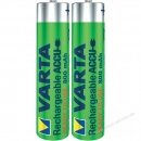 Varta Micro AAA Power Akku 800 mAh 2er Pack