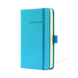 Sigel Notizbuch Sky Blue CO568 kariert