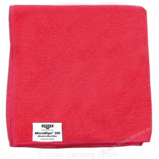 Unger SmartColor MicroWipe 200 40 x 40 cm rot