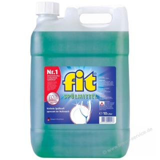 fit Spülmittel Original 10 Liter