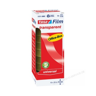 tesa Tesafilm transparent 15 mm x 33 m